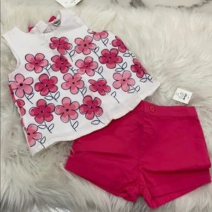 New** Little Me Two-Piece Set